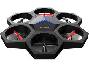 Makeblock Airblock Multi-form Drone, Free APP Easily Control without Experience, Programable Toys for Kids to Easily Assemble Drone, Hovercraft, Vehic and More, Safe Structure for Kids