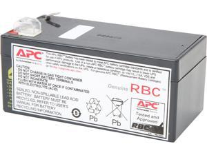 APC UPS Battery Replacement for APC Back-UPS models BE350G (RBC35)