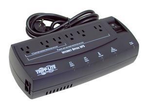 Tripp Lite 300 VA Standby UPS Back Up, 120V 150 Watts Ultra-Compact Desktop 6 Outlets, Tel / ...
