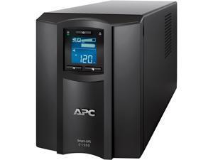 APC SMC1500C 1440 VA 900 Watts 8 Outlets Pure Sinewave Smart-UPS with Smart Connect (Replaces SMC1500)