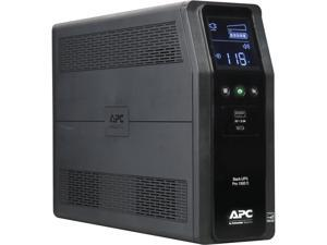 APC BR1500MS 1500 VA Pure SineWave 10 Outlets 2 USB Charging Ports Back-UPS Pro Battery Backup, Replaces BR1500G