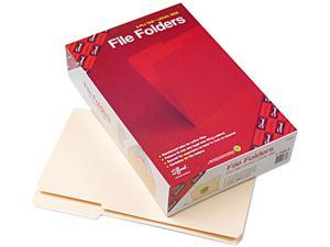 Smead 15337 File Folder, 1/3 Cut Third Position, Reinforced Top Tab, Legal, Manila, 100/Box