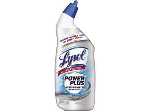 LYSOL 19200-96307 Power Plus Toilet Bowl Cleaner, Atlantic Fresh, 24 oz., 9/Carton