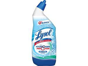 LYSOL 19200-98011 Toilet Bowl Cleaner w/ Hydrogen Peroxide, Cool Spring Breeze, 24 oz., 9/Carton