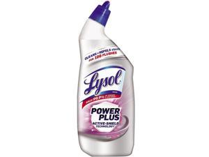 LYSOL 19200-96308 Power Plus Toilet Bowl Cleaner, Lavender Fields, 24 oz., 9/Carton