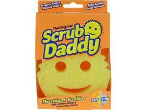SCRUB DADDY Polymer Foam Scratch Free Sponge 6-Pack SDC3PK NEW