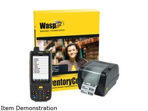 Wasp 633808391348 Inventory Software + HC1 Mobile Computer/Barcode Scanner + WPL305 Barcode Printer