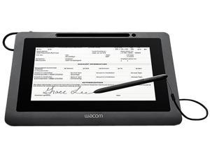 "Wacom DTU-1031X 10.1"" Color Interactive Pen Display for Electronic Signature Capture, 2540 lpi, 512 Pressure Level, Pen, USB Interface, Mac/PC"