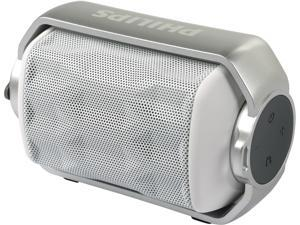 Philips BT2200W/27 Rugged Waterproof Bluetooth Portable Speaker - White