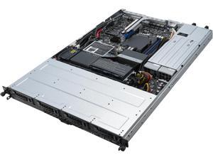 Asus Barebone System - 1U Rack-mountable - Intel C242 Chipset - Socket H4 LGA-1151 - 1 x Processor Support
