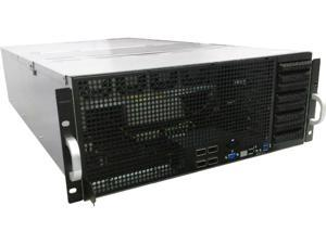 Asus ESC8000 G4 Barebone System - 4U Rack-mountable - Intel C621 Chipset - Socket P LGA-3647 - 2 x Processor Support