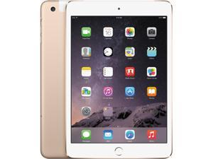 "Apple iPad Mini 3 MGNV2LL/A-GLD Apple A7 1 GB Memory 16 GB Flash Storage 7.9"" 2048 x 1536 Tablet PC iOS Gold"