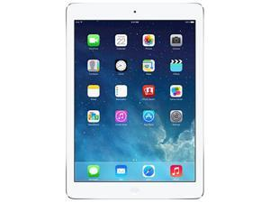 """Apple iPad Air MD788LL/A Apple A7 1 GB Memory 9.7"""" 2048 x 1536 Tablet (WiFi Only) iOS 7 Silver"""