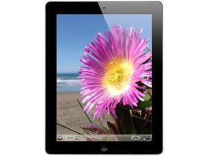 "Apple iPad 4 Apple A6X 1.40 GHz 1 GB Memory 32 GB 9.7"" 2048 x 1536 Wi-Fi AT&T Black Tablet iOS 6 Black  IOS 6.0.1 - Grade A"