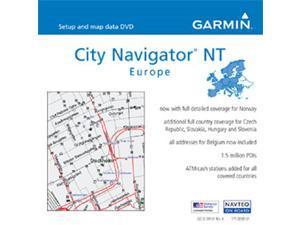 GARMIN microSD/SD data card, City Navigator Europe NT