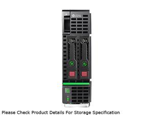 HP ProLiant BL460c Gen8 Blade Server System Intel Xeon E5-2620 2GHz 6C/12T 16GB (4 x 4GB) DDR3 No Hard Drive 666161-B21