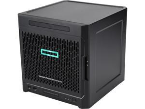 HPE ProLiant MicroServer Gen10 Ultra Micro Tower 4 HPE LFF SATA Performance Server AMD Opteron X3418 8GB (1 x 8GB) PC4-2400T DDR4 P07203-S01