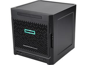 HPE ProLiant MicroServer Gen10 Ultra Micro Tower 4LFF NHP SATA 200W PS Soln Server AMD Opteron X3421 8GB (1 x 8GB) DDR4 UDIMM P04923-S01