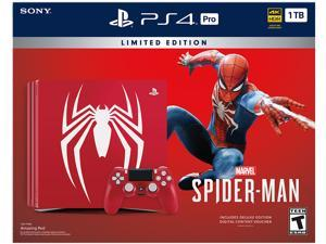 PlayStation 4 Pro 1TB Limited Edition - Marvel's Spider-Man Bundle