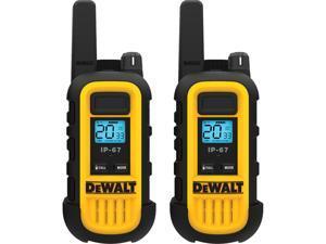 DEWALT DXFRS300 1W Walkie Talkies Heavy Duty Business Two-Way Radios (Pair)