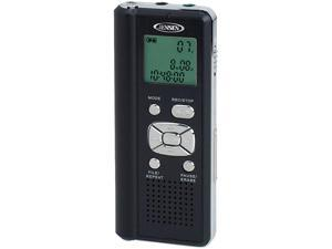 Jensen DR-115 Digital Voice Recorder with Micro SD Card Slot