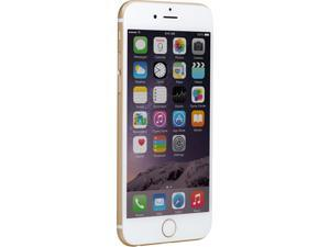 "Refurbished: Apple iPhone 6 16GB 4G LTE Unlocked Cell Phone, No Accessories 4.7"" 1GB RAM Gold C Grade"