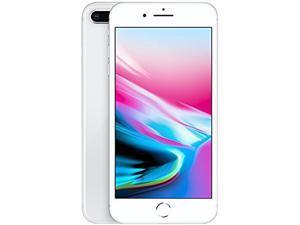 "Apple iPhone 8 Plus 4G LTE Unlocked Cell Phone 5.5"" Silver 256GB 3GB RAM"