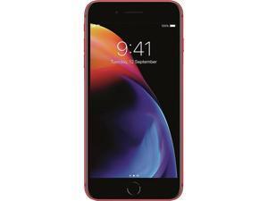 "Apple iPhone 8 Plus 4G LTE Unlocked GSM Phone w/ Dual 12 MP Camera 5.5"" Red 64GB 3GB RAM"