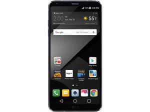 "LG G6 PLUS H870DSU Unlocked GSM Smartphone International Version (5.7"" Black, 128GB Storage 4GB RAM) No Warranty"