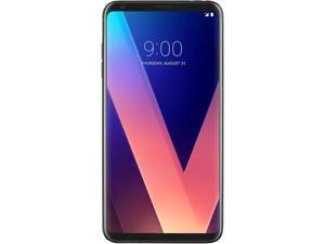 "LG V30+ LS998 4G LTE Unlocked GSM & CDMA Android Phone w/ Dual 16 MP / 13 MP Rear Camera 6"" Aurora Black 128GB 4GB RAM"