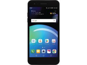 LG Phoenix 4 Black AT&T Prepaid Smartphone