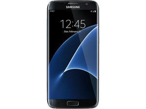 Samsung S7 Edge G935A 32GB AT&T Unlocked GSM 4G LTE Android Phone w/ 12MP Camera - Black Onyx (Refurbished)