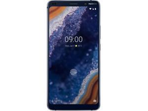 Nokia 9 Pureview TA-1082 128GB GSM Unlocked Android Phone w/ 5x - 12MP Cameras - Midnight Blue