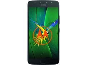 "Moto G5s Plus (Special Edition) Unlocked Smartphone Dual Camera (5.5"" Lunar Gray, 32GB Storage 3GB RAM) US Warranty"