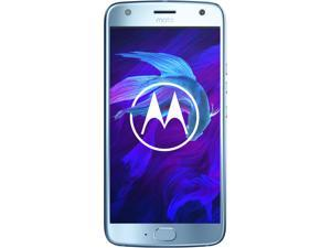 Moto X4 (4th Gen), 5.2 Inches, FHD LTPS, 3GB RAM, 32GB Storage, Dual Rear Camera, Unlocked Cell Phone, US Warranty, Sterling blue (PA8S0007US)