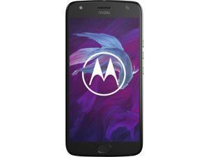Moto X4 (4th Gen), 5.2 Inches, FHD LTPS, 3GB RAM, 32GB Storage, Dual Rear Camera, Unlocked Cell Phone, US Warranty, Super Black (PA8S0006US)