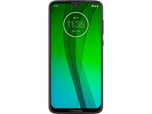 "Motorola Moto G7 4G LTE Unlocked Cell Phone 6.2"" Black 64GB 4GB RAM"