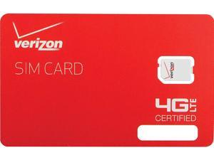 Verizon 4G LTE 3FF MICRO SIM Card