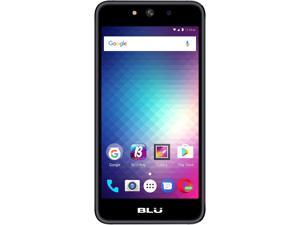 "Blu Grand M G070Q 3G Unlocked GSM Quad-Core Dual-SIM Phone 5"" Black 8GB 512MB RAM"