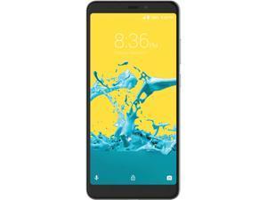 "ZTE Blade Max 2s 4G LTE Unlocked Smartphone 6"" Black 32GB 2GB RAM"