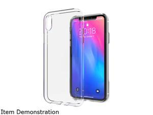 Insten Crystal Clear Soft TPU Ultra Slim Back Cover with Transparent Edge Drop Protection Slim Case for iPhone XR 2450812