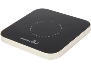 Krazilla KZC99 Silver Base Square Wireless Charging Pad, USB Cable Included