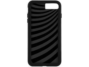 Macally Black Solid KickStand Case iPhone 7 KSTANDP7MB