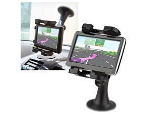 Insten Black GPS Windshield Mount Phone Holder compatible with the New Apple® iPhone® 5