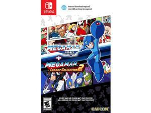 Mega Man Legacy Collection 1 & 2 (1 On Disc/2 Via Download) - Nintendo Switch