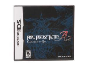 Final Fantasy Tactics A2: Grimoire of the Rift Nintendo DS Game