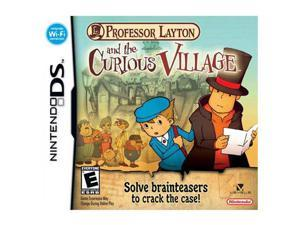 Professor Layton & The Curious Village Nintendo DS Game
