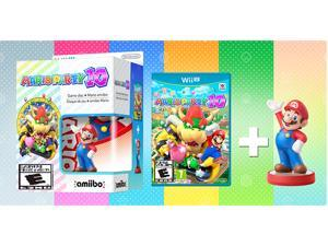 Mario Party 10 + Mario Amiibo Bundle - Nintendo Wii U