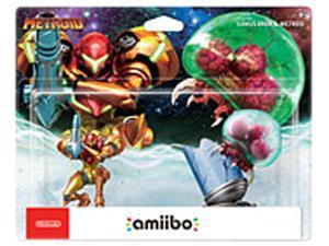 Nintendo Samus Aran & Metroid 2-Pack amiibo