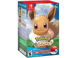 Pokemon: Let's Go, Eevee! + Poke Ball Plus Pack - Nintendo Switch